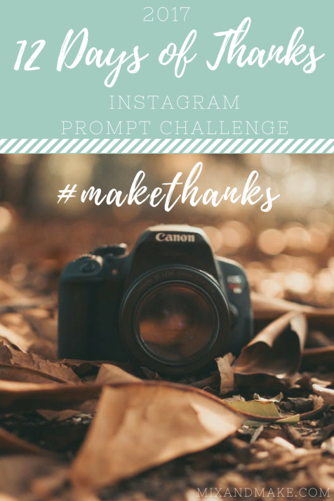 Instagram Challenge November cover