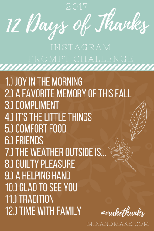 Instagram Challenge NovemberHash